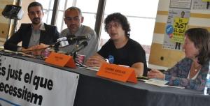 Presentació del Baròmetre de les finances ètiques durant la Festa del CJiBE 2012