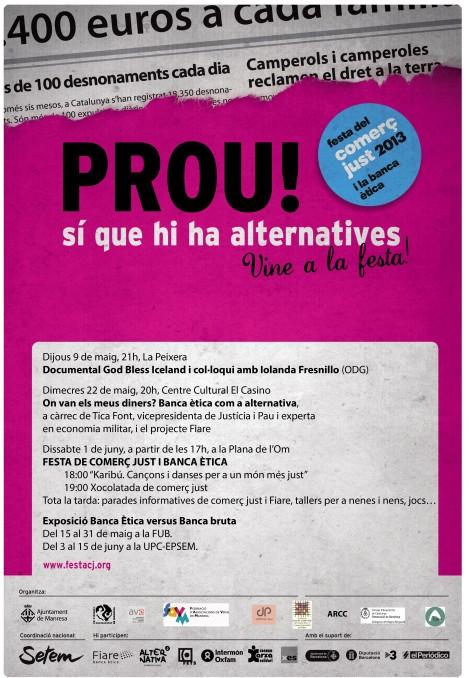 Programa de la FestaCJBE a Manresa